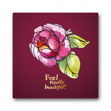 """Õnnitluskaart """"Kuninglik roos"""""""